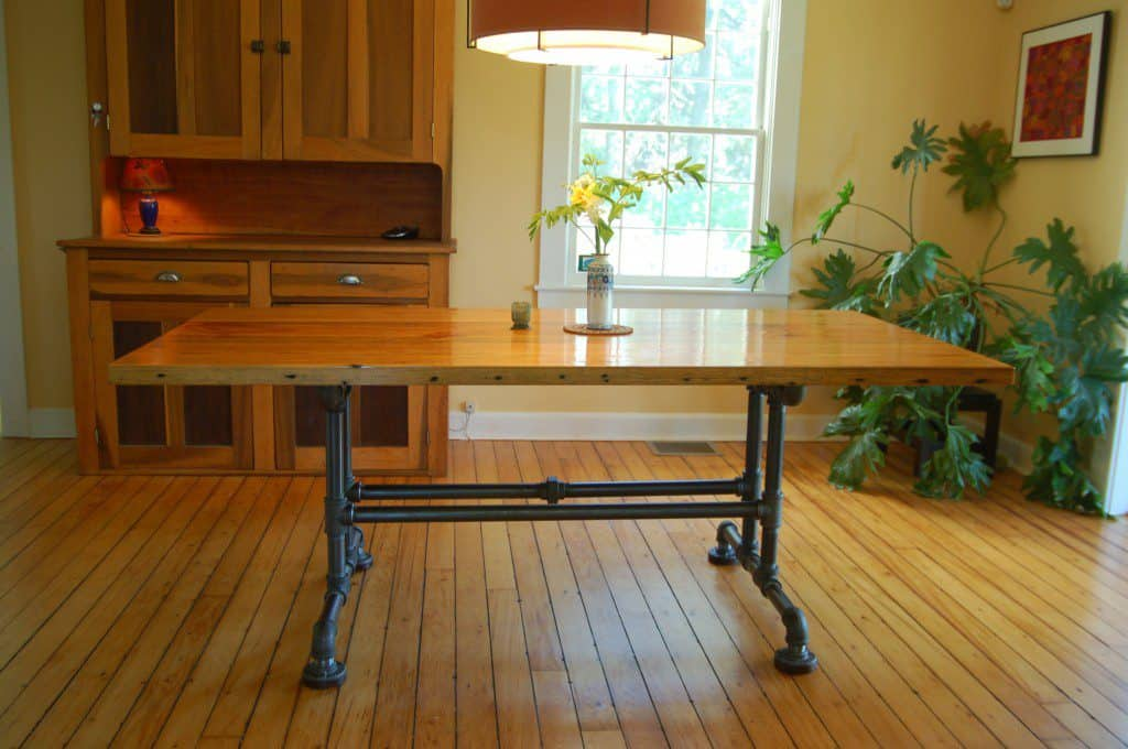 pine-pipe-dining-table