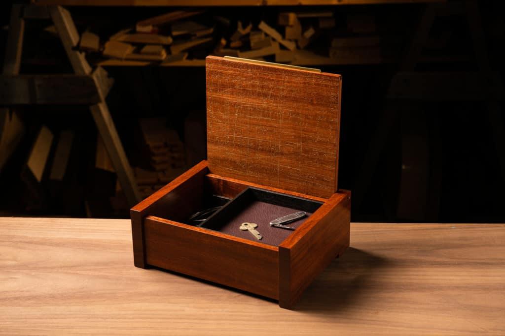 Bubinga Jewelry Box: DDL Palimpsest