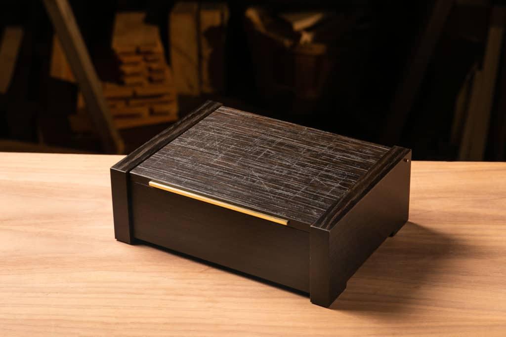 Black Equation Jewelry Box