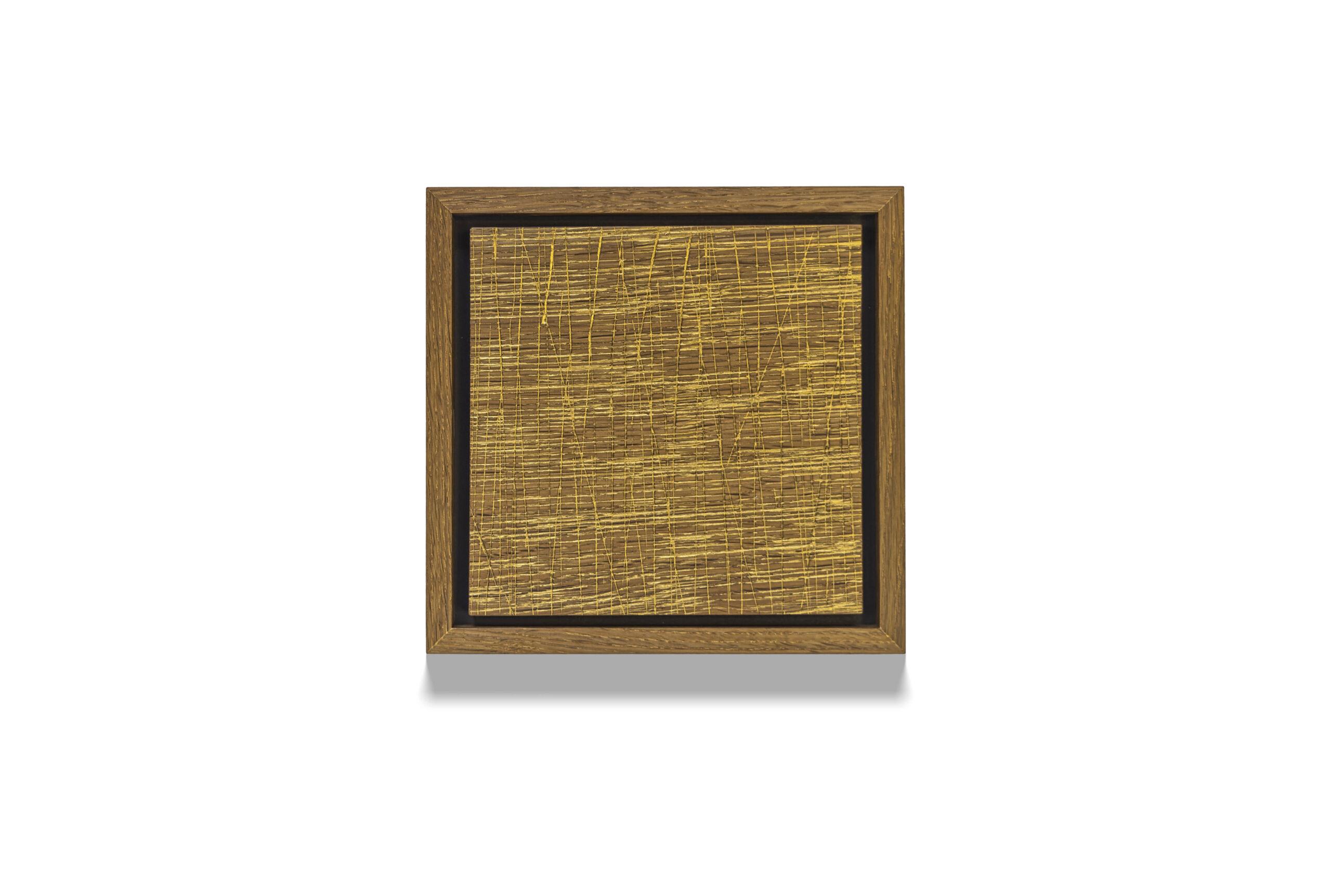 Textured Gold Oak #2 wood drawing