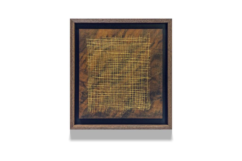 Walnut Skritch wood drawing