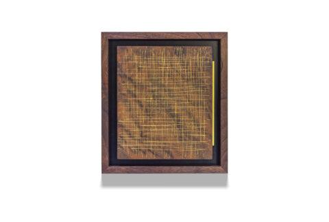 Walnut Skritch with bar wood drawing