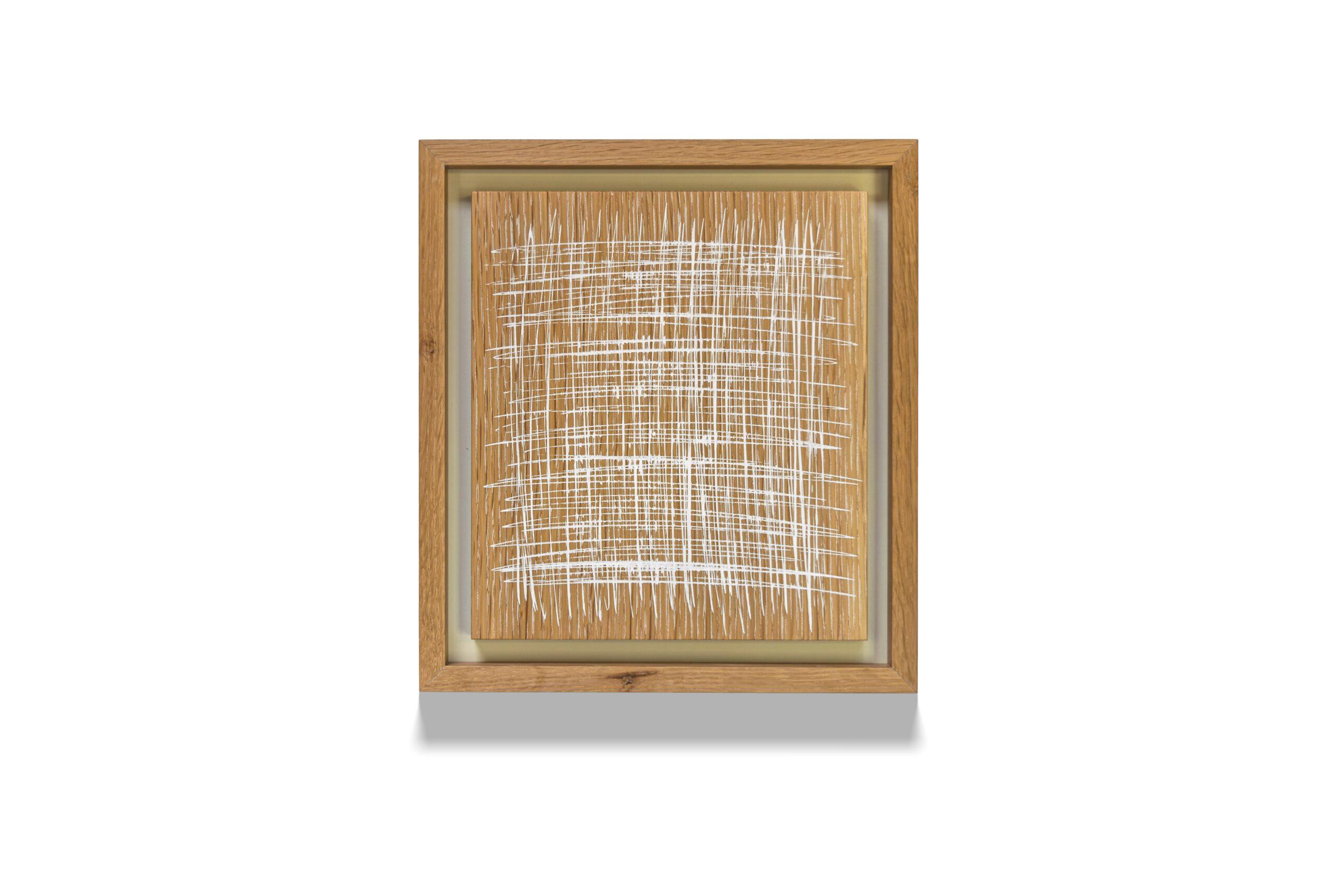 White Oak Skritch wood drawing