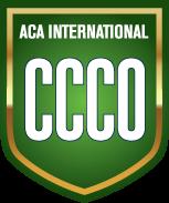 Green badge for ACA International CCCO certification
