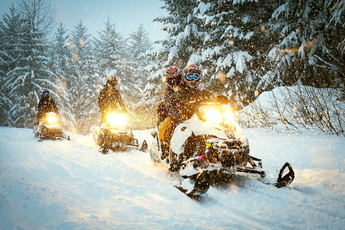 Snowmobile fun and safety