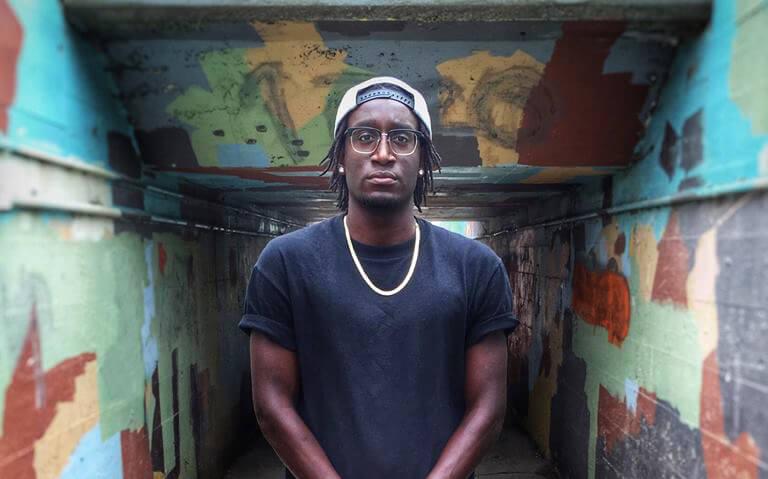 Winnipeg-based rapper Scribe