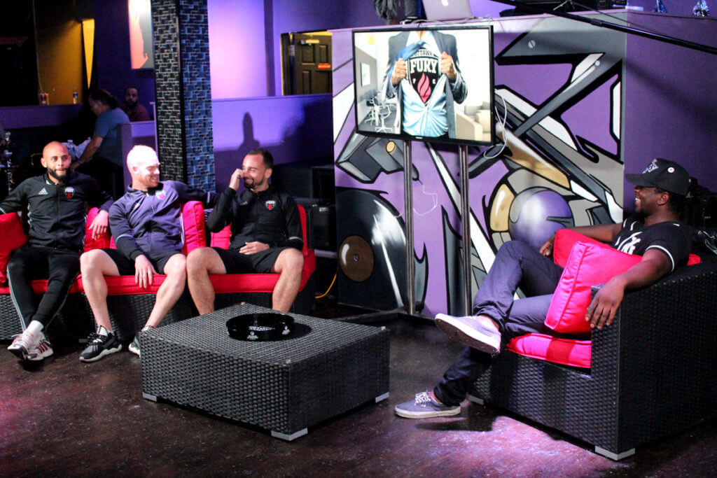 On the set of the TapDiesel Show