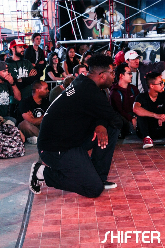Popping battle at House of Paint