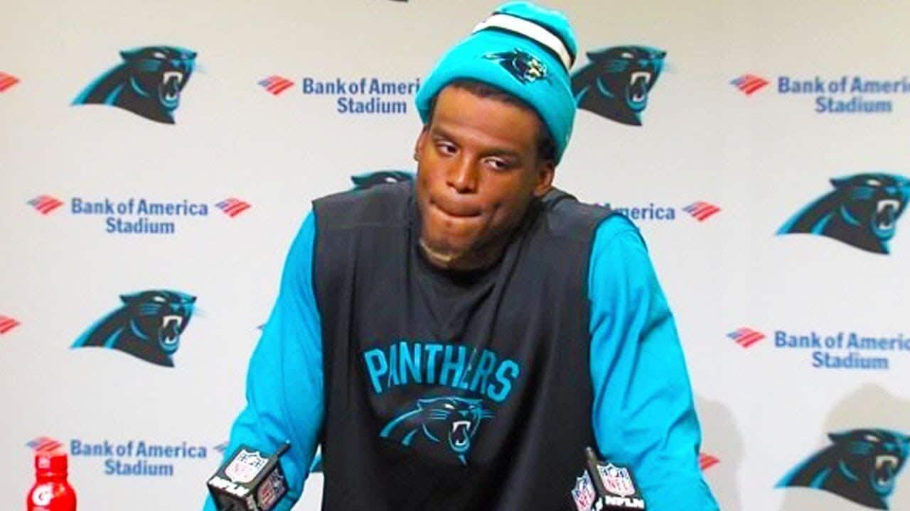 Cam Newton press conference
