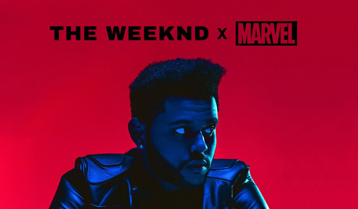 Starboy comic book, The Weeknd and Marvel