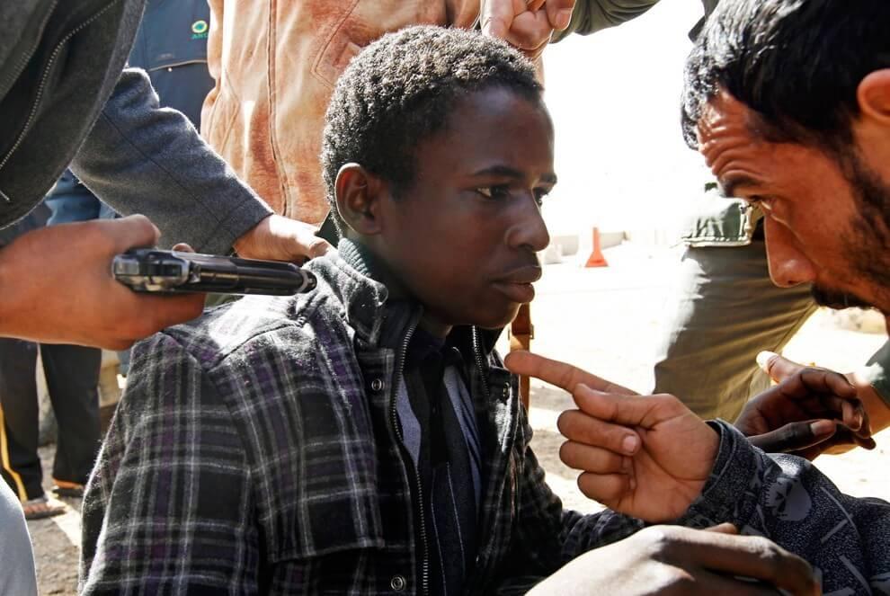 Libyan slave