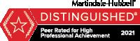 Martindale-Hubble Distinguished Attorney badge