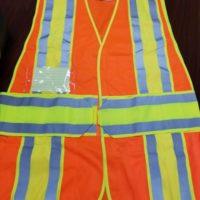 CLASS 2 Legend Safety Vest with ID Pockets ORANGE