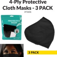 Cloth Mask Reusable Washable - 3-pack