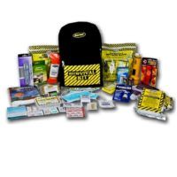 EQKEX2 2-Person Deluxe Earthquake Kit Backpack, Sunset Survival Kits, Emergency Water and Food, Earthquake Survival