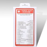 First Aid Flip Chart - Travel size