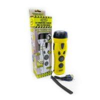Dynamo Crank Radio Flashlight Cell Charger