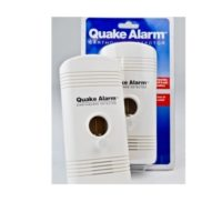 MC88-QUAKE Quake Alarm Earthquake Detector from Sunset Survival and First Aid, Emergency Kits, Earthquake Preparedness Supplies, School Safety, Survival Equipment, Disaster Kits