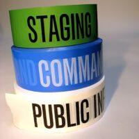 ICS Barricade Tape - Complete Set 3 Rolls