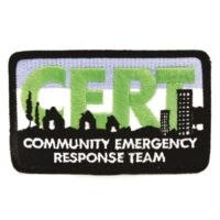 CERT Embroidered Logo Patch