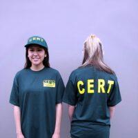 CERT T-shirt with Logo