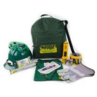 CERT Starter Backpack Kit with Reflective Safety Vest