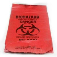 Biohazard Infectious Waste Bags - 10-pack