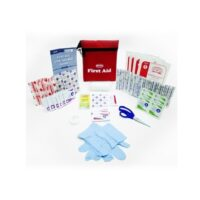 MFA-TK3-PCH First Aid Kit in Travel Pouch, trauma kits, first aid supplies, travel safety kits, bandages, first aid kits, first aid book, school safety