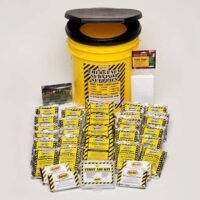 4-person Honey Bucket Survival Kit