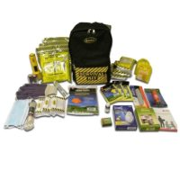 3-person Deluxe Emergency Backpack with First Aid