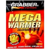 Mega Warmer - Pack of 3  - Large, up to 12 hrs instant heat