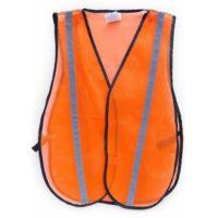 Reflective Orange Safety Vest