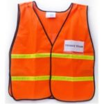 MSH55TR Legend Safety Vest with ID Pockets, Sunset Survival Triage Supplies