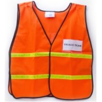 Legend Safety Vest with Clear Insert ID Holders