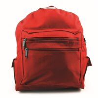 Backpack - Red - empty