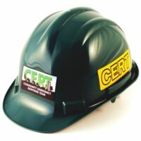 Deluxe CERT Hard Hat - Hi-Vis Reflective Stickers