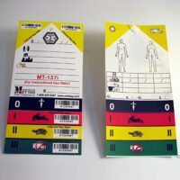 Triage Tags - Set of 50