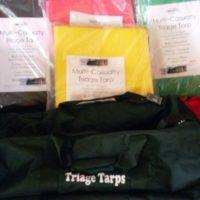 Triage Tarp Set with Carry Bag