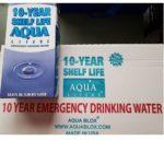 MWA10C Aqua Literz Emergency Water Box 10 year survival kits