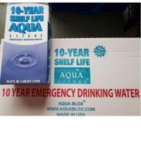 Aqua Literz Emergency Water Box - Case - 10 yr