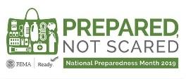 Prepared Not Scared National Preparedness Month sm