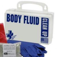 Biohazard Body Fluids Clean Up Kit in Case - PACK OF 2