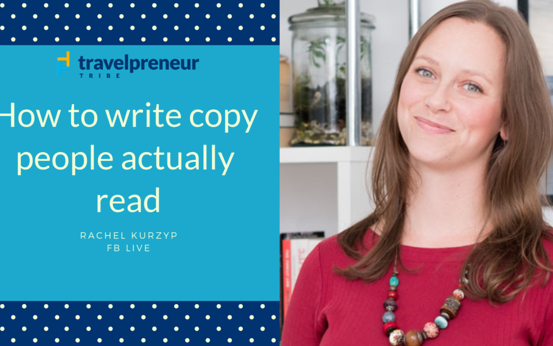 How to write copy people actually read
