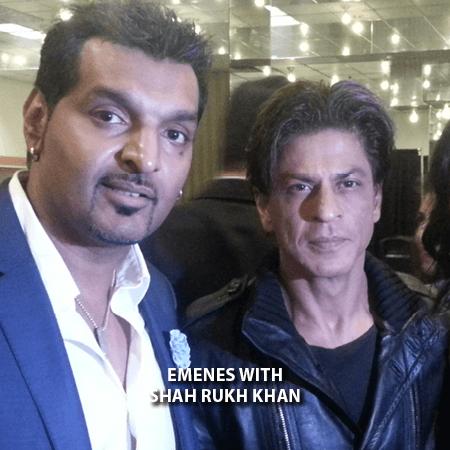 003 - Emenes With Shah Rukh Khan