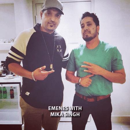 004 - Emenes With Mika Singh
