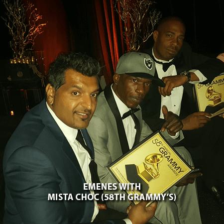 014 - Emenes With Mista Choc 58th Grammys