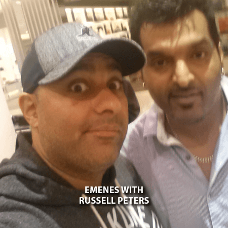 016 - Emenes With Russell Peters