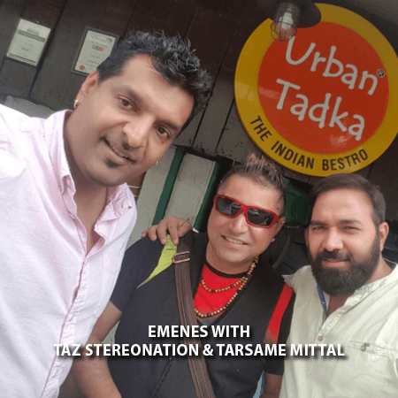 017 - Emenes With Taz Stereonation and Tarame Mittal