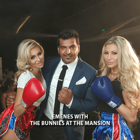 018 - Emenes With The Playboy Bunnies at the Mansion