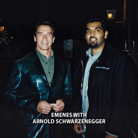 027 - Emenes With Arnold Schwarzenegger